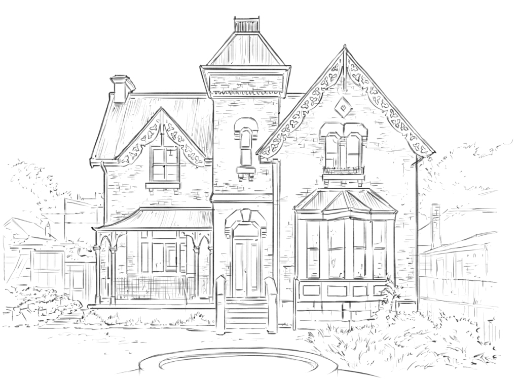 Victorian gothic verne gardiner property services for Victorian gothic style